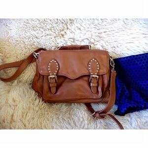 Rebecca Minkoff Schoolboy Leather Small Satchel