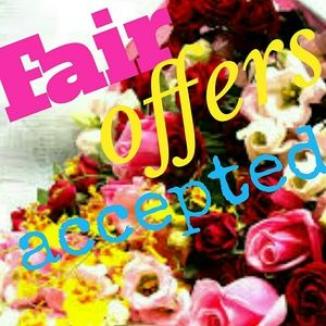 Accessories - All fair offers will be accepted use offer feature
