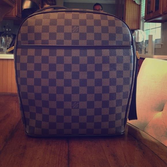 44738222d9fe Louis Vuitton Handbags - Louis Vuitton Damier Ebene Canvas Ipanema GM