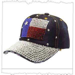 Accessories - Texas State Flag Adjustable Baseball Cap