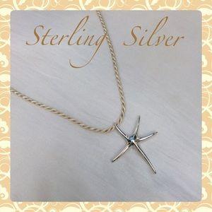 NewSTERLING SILVER DesignerLook STARFISH Necklace
