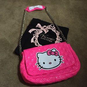 2cc4c13362 Victoria Couture Hello Kitty Bags - Victoria Couture Hello Kitty Bag in  neon pink