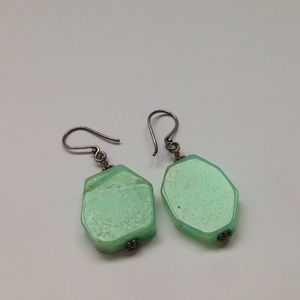 Jewelry - Light Green Drop Earrings