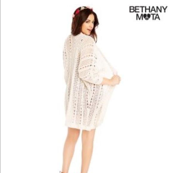 76% off Aeropostale Sweaters - ⚡ SALE Bethany Mota white ...