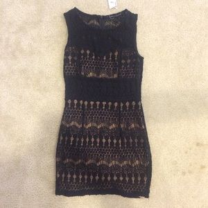 Foreign Exchange Lace Black Dress