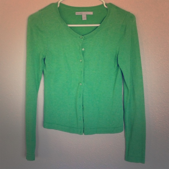 64% off Old Navy Sweaters - Kelly Green Cardigan from Angie's ...