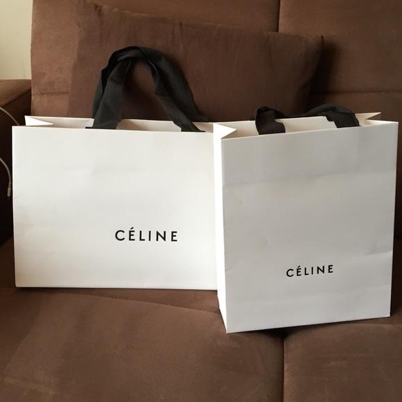 5e388b968ff9 Celine Other - Medium Celine Shopping Bag w Receipt Holder