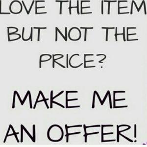 Plz make a offer!!!!