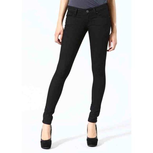 59 off mavi denim distressed black serena skinny jeans. Black Bedroom Furniture Sets. Home Design Ideas