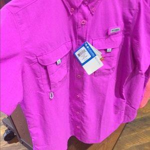 Pink Columbia Shirt | Is Shirt