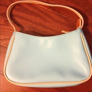 GAP Handbags - Blue faux patent GAP purse