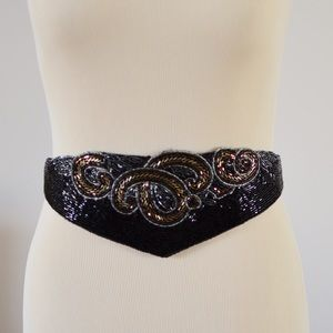Intricate Beaded Belt