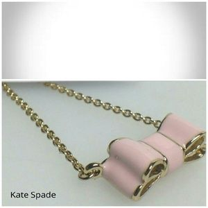 HP  Kate  Spade Bow Necklace