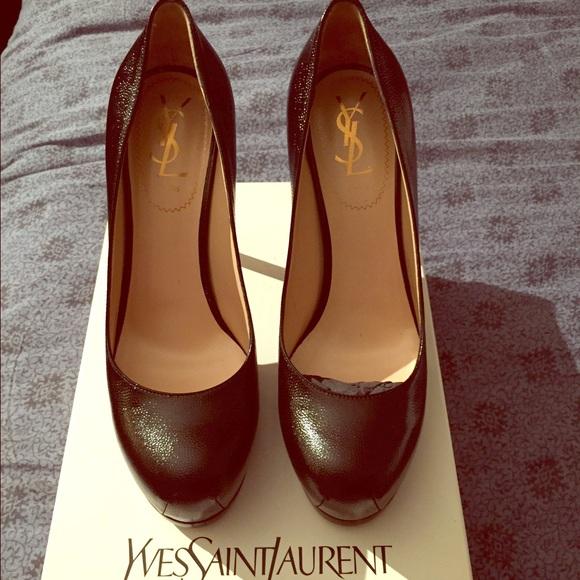 a873ab853c1 Yves Saint Laurent Shoes | Authentic Black Leather | Poshmark
