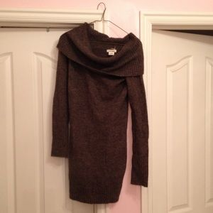 Dresses & Skirts - Sweater dress, brown