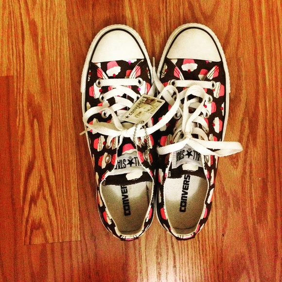 High Top Cupcake Shoes Converse