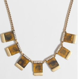 Tortoise j. Crew Necklace