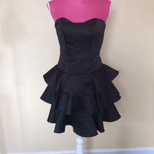 ABS Allen Schwartz collection black dress