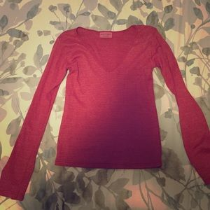 Michael Stars Tops - 🎉Super cute shimmery red Michael Stars top.