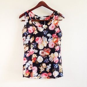 | new | floral tank