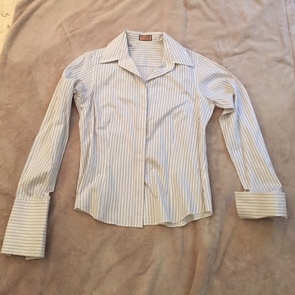 87 off tops thomas pink french cuff button down shirt