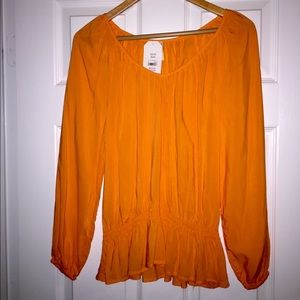 Tops - Orange top!