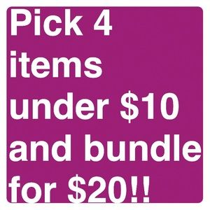 Bundle and save !!