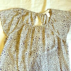 Banana Republic patterned blouse