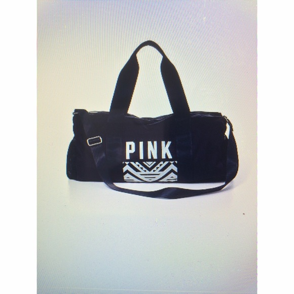 pink s secret vs pink duffle bag from