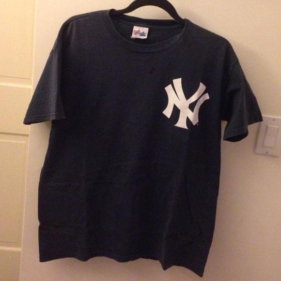 Majestic Tops - New York Yankees Hideki Matsui Tshirt a0f29b51363
