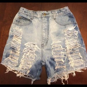 Anchor Blue jeans shorts