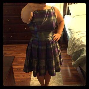BB Dakota Dresses & Skirts - BB Dakota Purple & Silver Dress