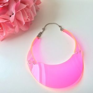 H&M Neon Collar Necklace