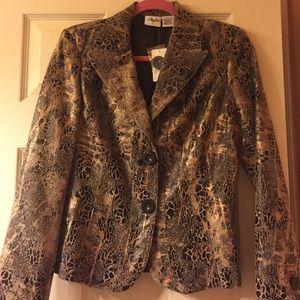 Jackets & Blazers - New tan-brown-gold jacket