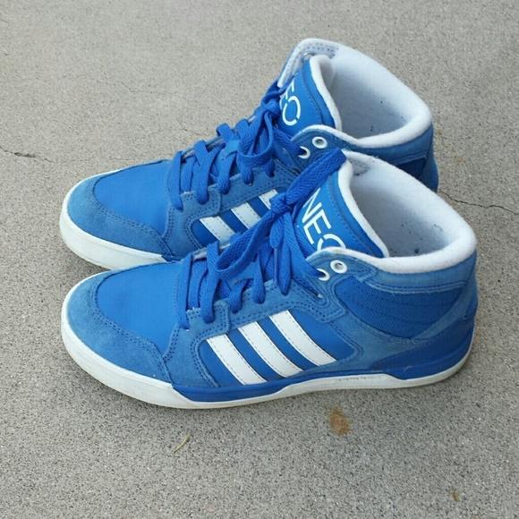 8d6107638708 royal blue adidas high tops Sale