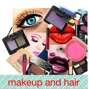 Makeup.  Hair Items.