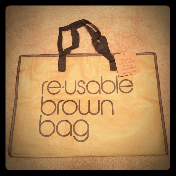 410c94dddb Reusable Brown Bag from Bloomingdales