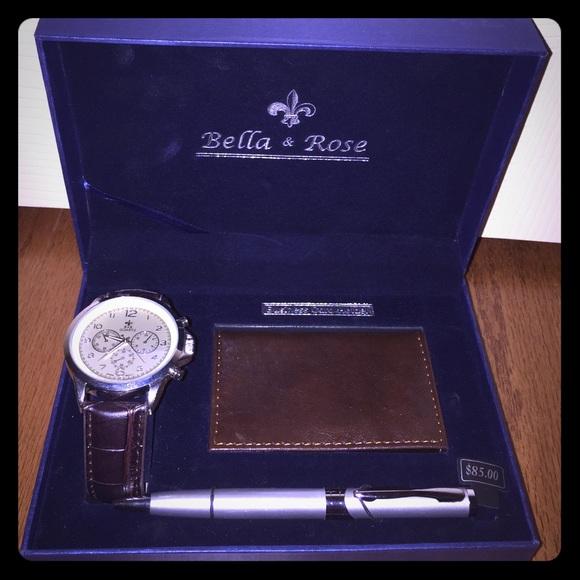 59 off bella  rose jewelry  bella  rose watch pen