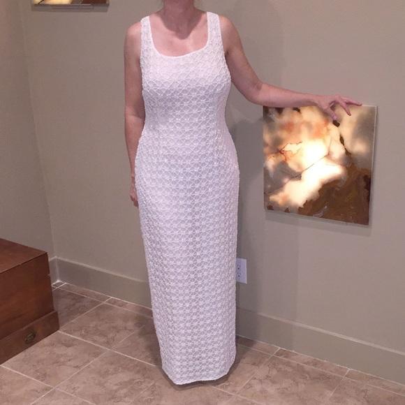 Stenay Dresses | 100 Silk Full Length Beaded Evening Gown | Poshmark