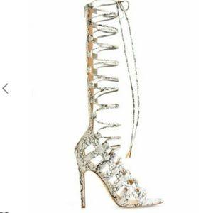 Just fab thigh high heels