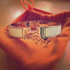 usl briefcase hermes - Hermes Black and Gold H bracelet - inspired OS from Julie's closet ...