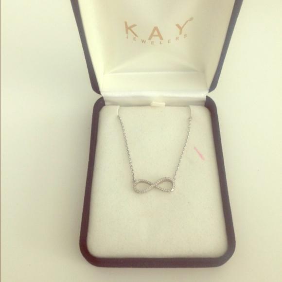 3091b1bfb Kay Jewelers Jewelry - Kay jewelers infinity diamond necklace