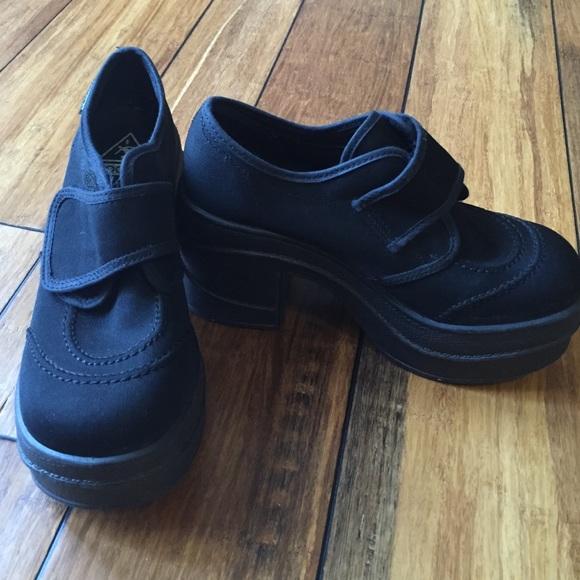 kookai funky platform shoes from napgirl7 s closet on