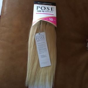 Natural Hair extensions 10 in