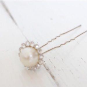 Fancy Pearl Diamond Hair pick accessory