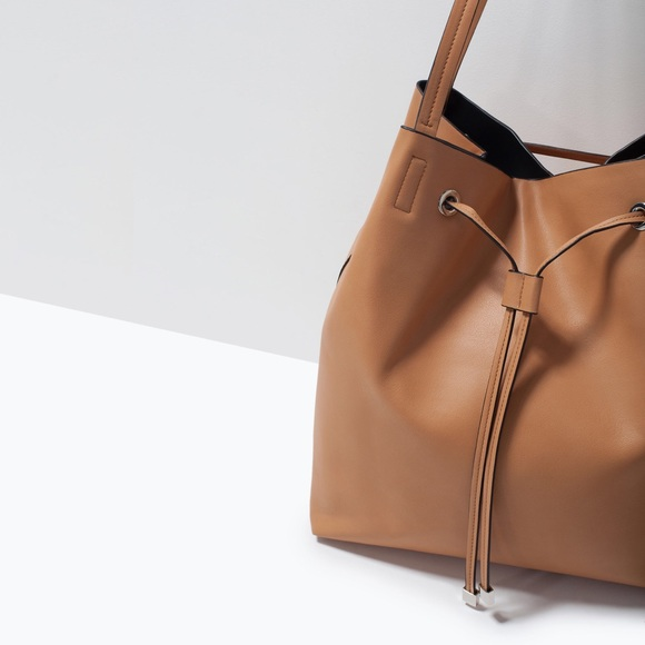Zara - ZARA drawstring bucket bag from Lena's closet on Poshmark