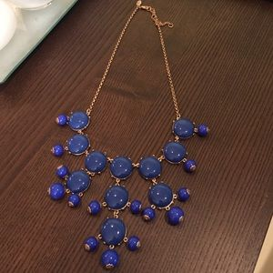 Jewelry - JCrew Inspired Blue Bubble Necklace
