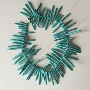 Jewelry - Turquoise spike necklace