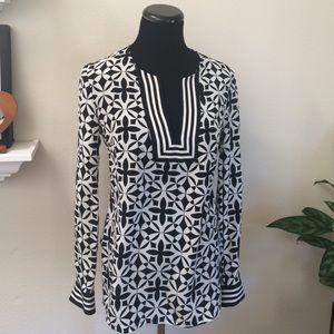 Trina Turk silk blouse