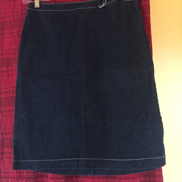 Ann Taylor Skirts Loft Denim Skirt Price Drop Poshmark
